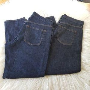 Uniqlo Slim Boyfriend Jeans 27 inch